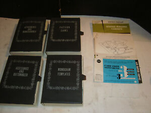 Vtg Sears Kenmore Sewing Machine Attachments 4 Boxes Cams Monogrammer Buttonhole $64.95