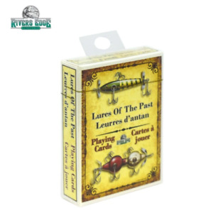 RIVERS EDGE PLAYING CARDS ANTIQUE LURES Combined Shipping