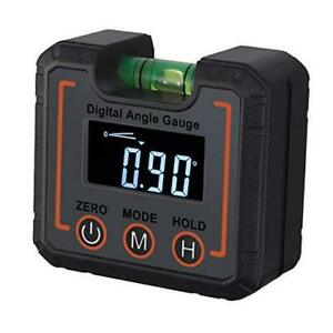 Digital Level Box Digital Angle Gauge Magnetic Angle Finder Protractor with $29.15