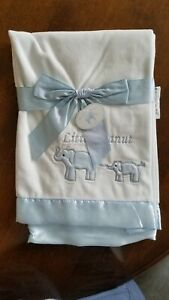 Bearington Baby Elephant Blue Embroidered Blanket New with tags $10.00