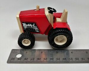 Buddy L Metal Plastic Red amp; White Lawn Tractor $10.99