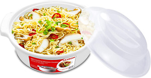 Microwave Ramen Cooker Noodle Or Soup Bowl Easy Mac Perfect For Breakfast Colle