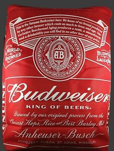 Budweiser Soft Sided Insulated Backpack Cooler Classic Red Bud