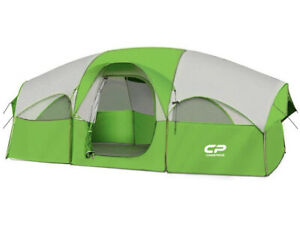 CAMPROS Tent 8 Person Camping Tents Waterproof Windproof Family Tent 5 Large M