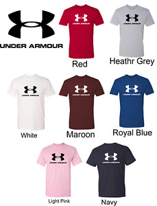 Under Armour Mens Logo Tee Muscle Gym Shirt $19.80