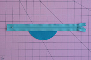 Blue zipper for sewing bags $0.99