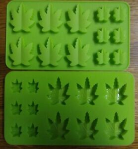 Marijuana Cannabis Silicone Molds for Ice candy soap candles edibles gift ideas