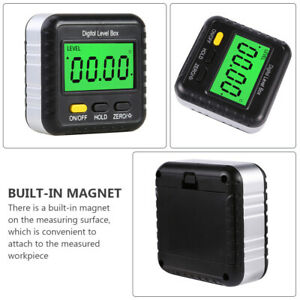 Digital Level Box Magnetic Angle Finder Angle Measuring Tool Electronic Level $16.19