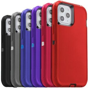 Shockproof Case For iPhone 13 12 11 Pro Max Xr Xs 6 8 7 Plus SE Heavy Duty Cover $8.49