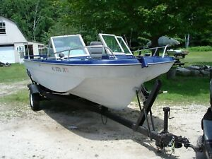 1973 Cathedral 18 ft fishing boat w Volvo Penta motor amp; outdrive