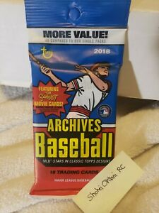 2018 Topps Archives⚾� Sealed Value HOT PACK Guaranteed OHTANI RC On fire 🧨 $99.00