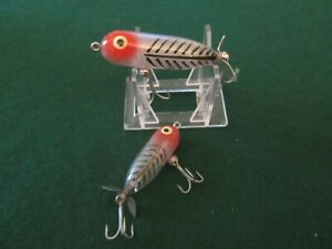 Vintage fishing lure Heddon XRS Baby and a Tiny Torpedo