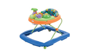Safety 1st Dino Sounds n Lights Discovery Baby Walker with Activity Tray $35.75