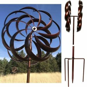 Kinetic Wind Spinner Metal for Yard Decorations Garden Outdoor Lawn Decor Patio $126.79