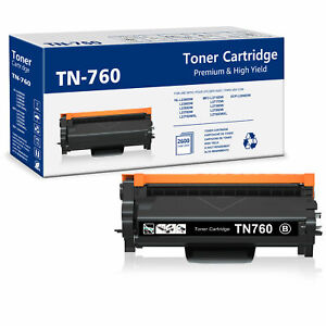 1 Pack TN760 HIGH YIELD LASER TONER CARTRIDGE BLACK for Brother MFC L2710DW $21.99