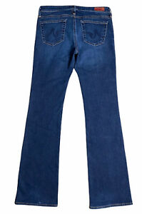 AG Adriano Goldschmied The Angle Bootcut Low Rise Blue Jeans Size 28R $19.98