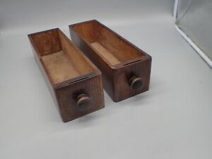 2 Antique Treadle Sewing Machine Cabinet Drawers $19.99