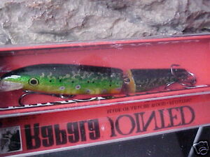 RAPALA Jointed Minnow J13 BTR Color Brook Trout for Bass Pike Walleye Musky