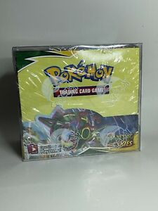 Pokemon Booster Box Plastic Protector Case 1pc Best Clear Protective Display $7.94