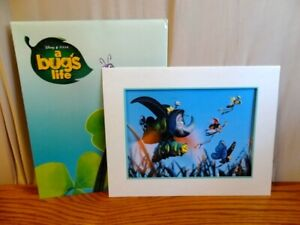 Disney Lithographs A Bug#x27;s Life With Frame Exclusive Commemorative 1999 $8.97