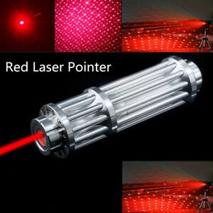 1000Miles Red Laser Pointer Pen 650nm 1865O Zoomable Beam Pen Light Star Cap $18.98