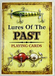 Lures Of The Past Playing Cards Rivers Edge Fishing Antique Lures Fishing Angler