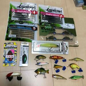 Retire Large Lot Lure Worm Set Collection