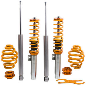 Adjustable Suspension Lowering Shock Coilover Kits For BMW E46 3 Series 98 06 $230.87
