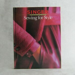 Singer Sewing for Style Reference Library 1985 Hardcover $6.95