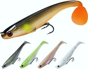 Fishing Lures Shad Soft Swimbaits Pre Rigged or DIY Fishing Bait for Saltwater