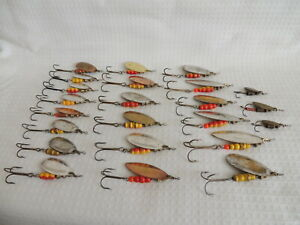 A Selection Of 23 Mepps Spinning Fishing Lures.