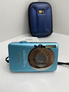 Canon PowerShot Digital Camera ELPH SD1200 IS W Charger amp; Case
