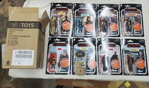 Star Wars The Mandalorian The Retro Collection Wave 1 Case Sealed IN HAND STOCK $82.00