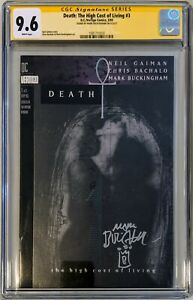 Sandman Death High Cost of Living 3 🔥CGC 9.6 WHITE PAGES🔥SIGNED NETFLIX SHOW $122.00