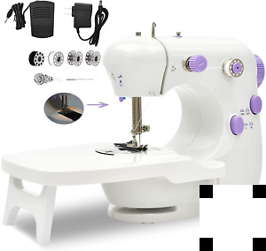 Sewing Machine Portable Household Lightweight Mini Sewing Machine for Beginner $28.19