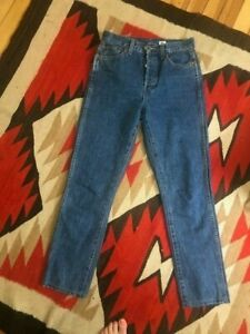 Re Done Double Needle Crop Jean Size 26 $60.00