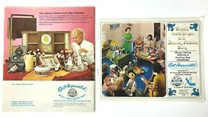 Vintage Stanley Home Party Catalog amp; Invite Get Acquainted 40th Anniversary 1971