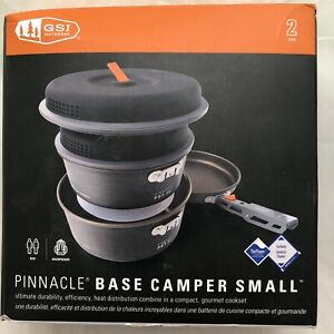 GSI Outdoors Pinnacle Base Camper Cookset Cookware Small Camping Backpacking