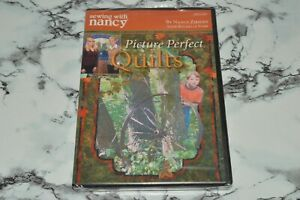 NEW Sewing With Nancy Picture Perfect Quilts Nancy Zieman DVD READ $14.93
