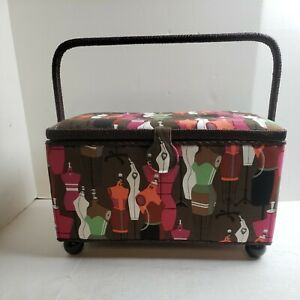 Large Sewing Basket with Accessories Sewing Organizer Box for Sewing Supplie... $34.20