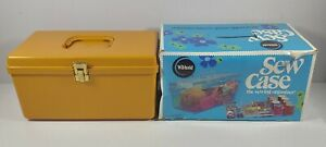 Vintage Wilson Wil Hold Plastic Sewing Case Organizer With Original Box $31.49