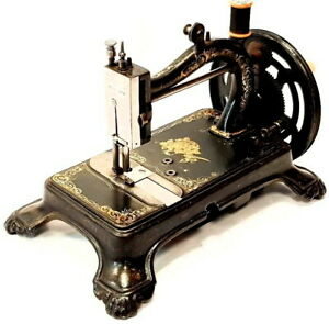 Very rare amp; Antique sewing machine THE LOCKMAN by WILSON BOWMAN 1869 CANADA $1295.00