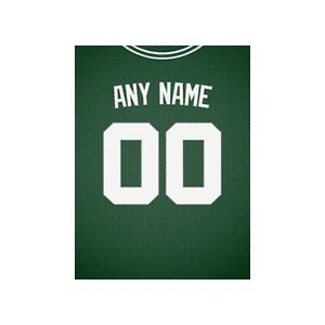 Basketball Jersey Print 1 Personalized Any NAME NUMBER Print FREE US SHIPPING