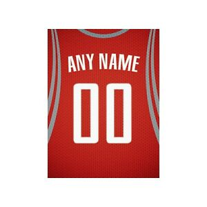 Basketball Jersey Print 10 Personalize Any NAME NUMBER Print FREE US SHIPPING