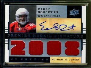 EARLY DOUCETT 2008 UD PREMIER ROOKIE AUTO 375