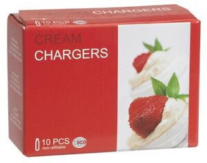 20 Whip Cream Chargers Euro whipped creme cafe Liss Free Shipping 2 boxes of 10