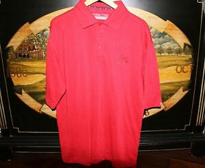 Mens XL Extra Large Red Golf Polo Shirt DryTec Cutter & Buck TIRES PLUS