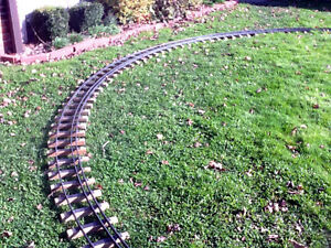 dual gauge tracks 4 3 4 3 1 2 gauge 20 foot