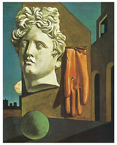 The Song of Love c.1914 De Chirico Art on Canvas
