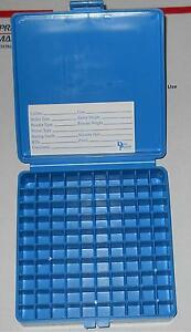 DILLON PLASTIC AMMO BOXES (3) 100rd .45-10mm-.40S&W WLABELS FOR RELOADING